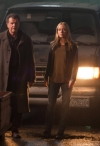 "FRINGE: Peter (Josh Jackson, L), Walter (John Noble, C) and Etta (guest star Georgina Haig, R) search an underground market for Olivia in the FRINGE Season Five premiere episode ""Transilience Thought Unifier Model-11"" airing Friday, Sept. 28 (9:00-10:00 PM ET/PT) on FOX. ©2012 Fox Broadcasting Co. CR: Liane Hentscher/FOX"