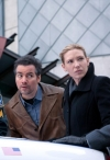 """FRINGE: Olivia (Anna Torv, second from R) joins forces with the mysterious Sam Weiss (guest star Kevin Corrigan, second from L) in a desperate race against time in the FRINGE episode """"The Last Sam Weiss"""" airing Friday, April 29 (9:00-10:00 PM ET/PT) on FOX. ©2011 Fox Broadcasting Co. CR: Liane Hentscher/FOX"""