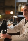 """FRINGE: Walter (John Noble) inspects a crime scene from the lab in the FRINGE Season Four premiere episode """"Neither Here Nor There"""" airing Friday, Sept. 23 (9:00-10:00 PM ET/PT) on FOX. ©2011 Fox Broadcasting Co. CR: Liane Hentscher/FOX"""