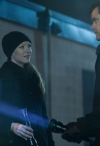 """FRINGE: Olivia (Anna Torv, L) and Peter (Josh Jackson, R) search a storage locker for clues in the all-new """"A Better Human Being"""" episode of FRINGE airing Friday, Feb. 17 (9:00-10:00 PM ET/PT) on FOX. ©2012 Fox Broadcasting Co. CR: Liane Hentscher/FOX"""