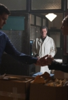 """FRINGE: Peter (Josh Jackson, L), Walter (John Noble, C) and Olivia (Anna Torv, R) investigate a series of murders in the all-new """"A Better Human Being"""" episode of FRINGE airing Friday, Feb. 17 (9:00-10:00 PM ET/PT) on FOX. ©2012 Fox Broadcasting Co. CR: Liane Hentscher/FOX"""