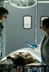 "GRIMM -- ""Lonelyhearts"" Episode 105 -- Pictured: (l-r) David Giuntoli as Nick Burkhardt, Sharon Sachs as Dr. Harper -- Photo by: Scott Green/NBC"