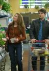 "GRIMM -- ""Lonelyhearts"" Episode 105 -- Pictured: (l-r) Bitsie Tulloch as Juliette Silverton, David Giuntoli as Nick Burkhardt -- Photo by: Scott Green/NBC"
