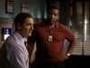 """GRIMM -- """"Lonelyhearts"""" Episode 105 -- Pictured: (l-r) Sasha Roiz as Captain Renard, Russell Hornsby as Hank Griffin -- Photo by: Scott Green/NBC"""